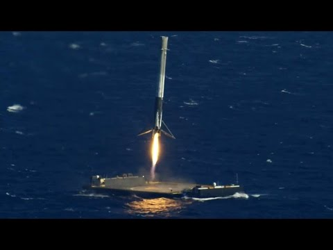SpaceX landing compilation / best landing montage