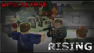 Roblox: Apocalypse Rising Lets play 2
