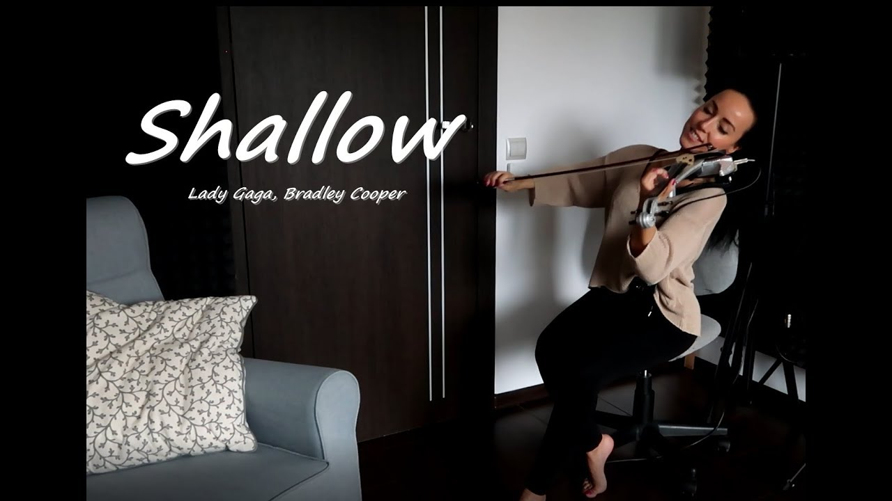 Lady Gaga, Bradley Cooper - Shallow (A Star Is Born)/ Agnes Violin cover image