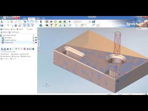 1 SprutCAM Mill Training Part 350 1