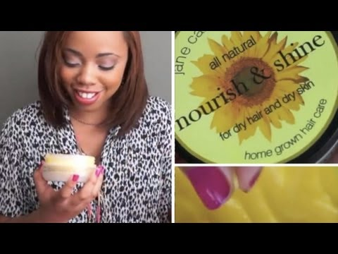 Great Product for Nappy Dry Hair: Nourish & Shine