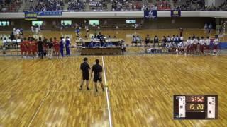 5日 ハンドボール男子 あづま総合体育館 Bコート 千原台×明星 1回戦 2