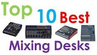 Top 10 Mixers - Top 10 Best Audio Recording Mixers