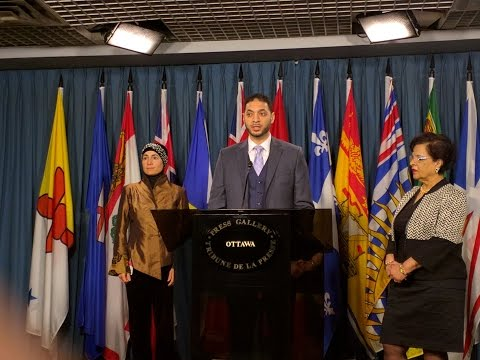 Press Conference - Parliament Hill Charles Lynch Room Dec 10