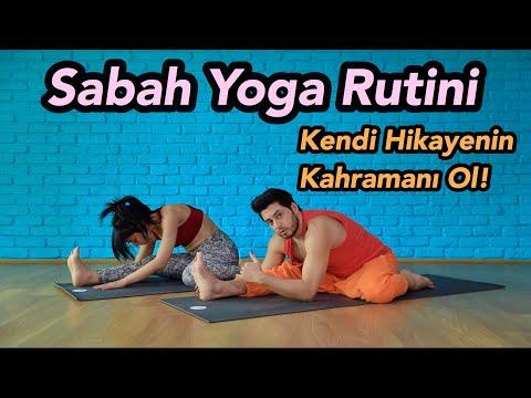 Sabah Yoga Rutini | Kendi Hikayenin Kahramanı Ol! (Her Seviyeye Uygun)