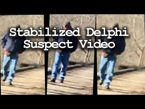 Abby and Libby Delphi Suspect Video Stabilized