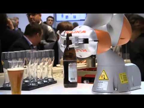 KUKA beer robot