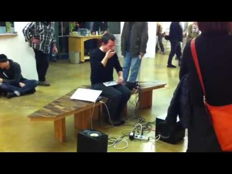 seth cluett - live at swarm gallery, oakland (2011)