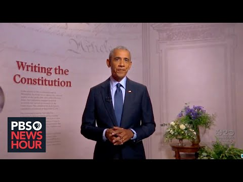 WATCH: Barack Obama's full speech at the 2020 Democratic National Convention | 2020 DNC Night 3