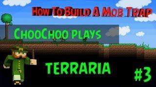 #TerrariaFever EPISODE Three ' How to Build Mob Trap ' Terraria xbox 360 Edition.