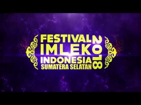 kemeriahaan acara Festival Imlek Indonesia 2018