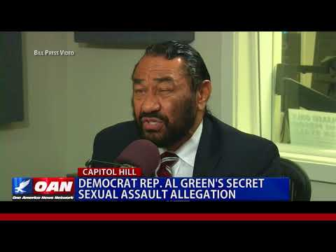 Democrat Rep. Al Green's Secret Sexual Assault Allegation