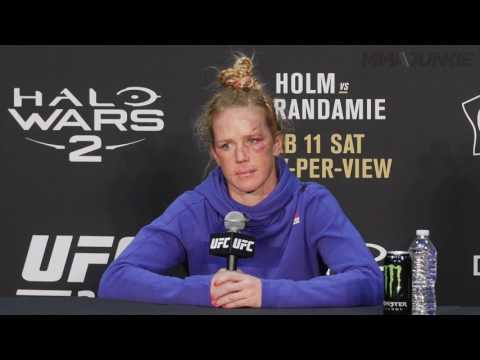 Full Interview: Holly Holm UFC 208 post-fight press conference
