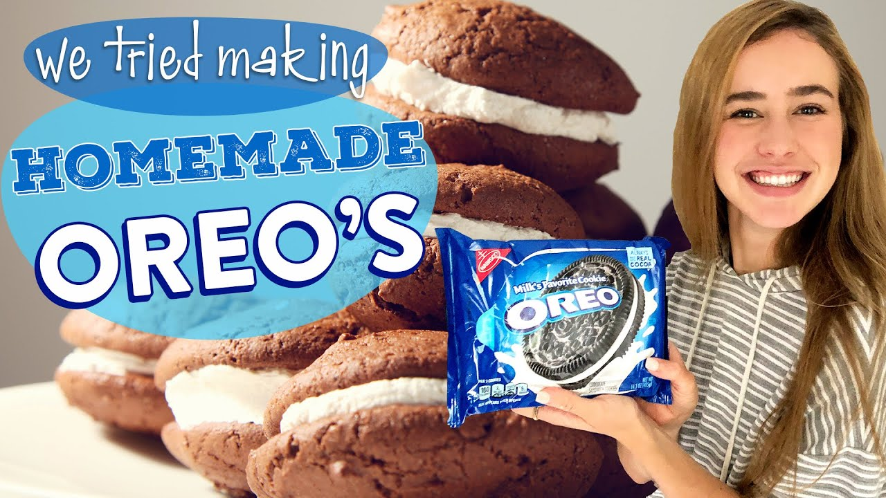 Homemade Oreos Are Easier Than You Think   DIY Homemade Oreo Cookies