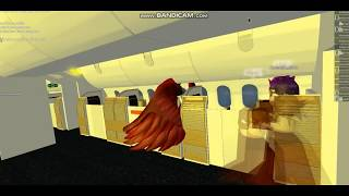 Flying on-board Emirates [ROBLOX]