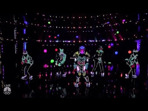 Light Balance: This Light-Dance Group Hit It OUT OF THE PARK!! America's Got Talent 2017