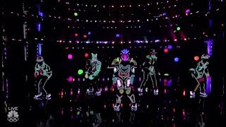 Light Balance: This Light-Dance Group Hit It OUT OF THE PARK!! America