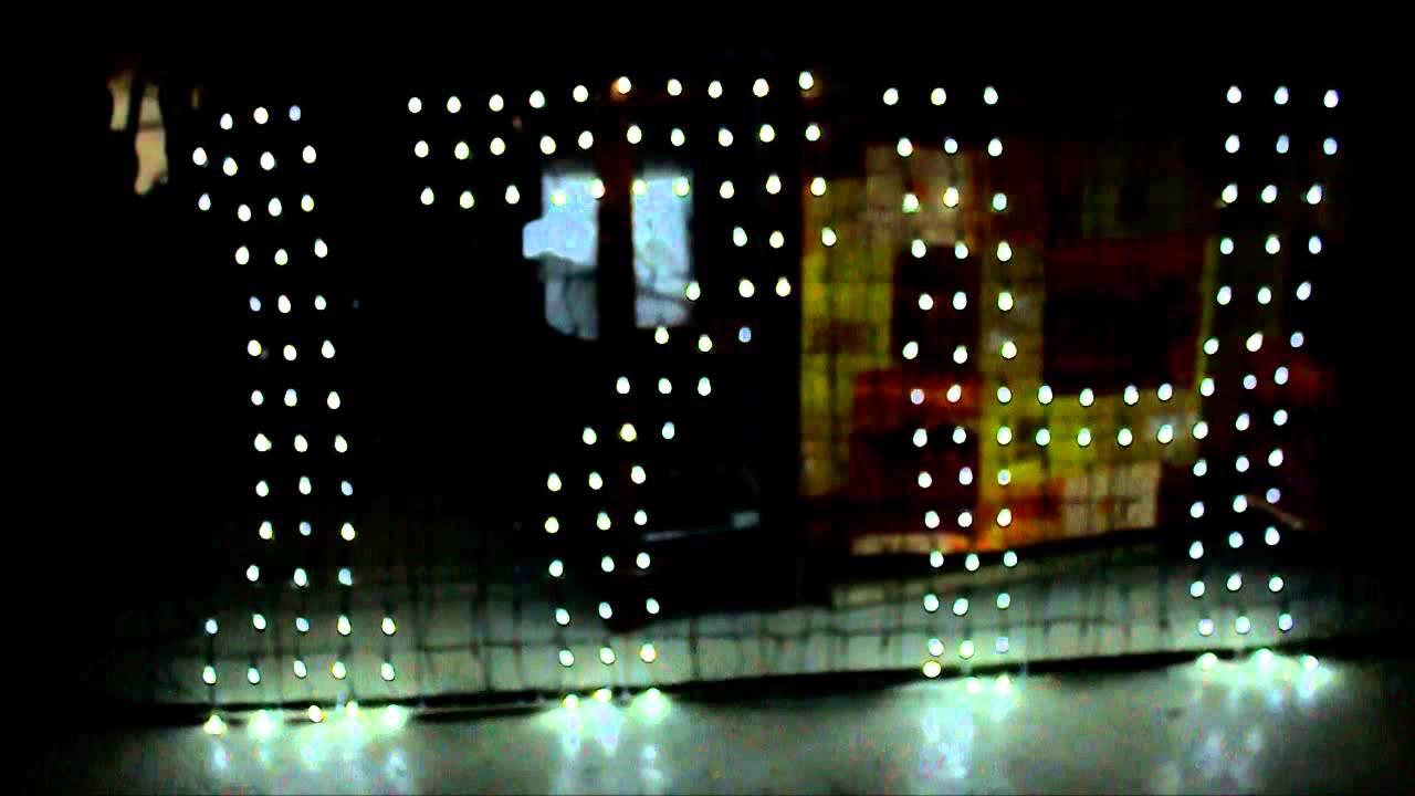 rideau LED programmable  YouTube
