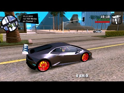 Lamborghini Huracan Dff Only For Android - GTA San Andreas Mobile Mod / Android Mods