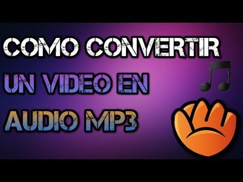 Como convertir un video en audio mp3 con atube catcher