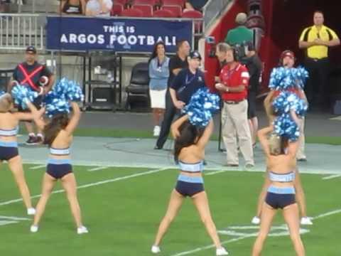 Toronto Argos Cheerleaders 31-08-2016