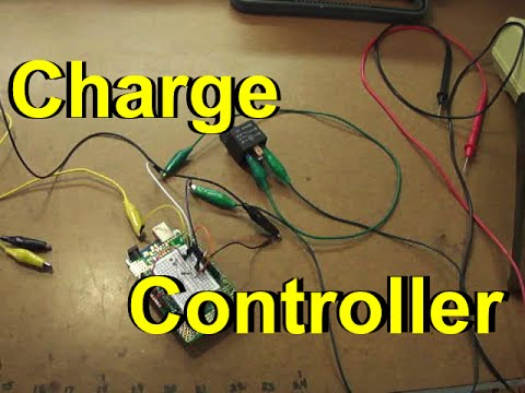 Wind/Solar Arduino Charge Controller
