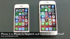 iPhone 6 vs iPhone 5s Vergleich und lohnt sich ein Wechsel ?