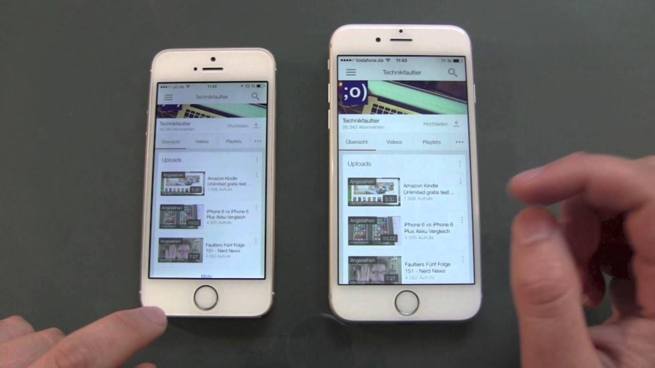 iphone 6 vergleich 5s