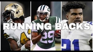 The 10 Best and Worst Running Backs for 2018