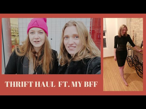 Come Thrift With Us In Chicago | Village Discount Outlet Try-on Thrift Haul Ft. My Bff!