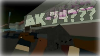 AK-74 EXCLUSIVE FIRST LOOK | ROBLOX Phantom Forces [BETA]