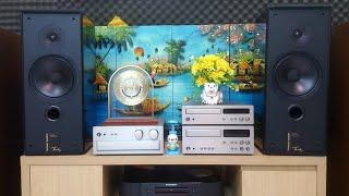 Dàn âm thanh phối ghép hay ~ Loa Harman Kardon ( CANADA ) + Yamaha AX-10 ( JAPAN ) . LH 0915.934.119