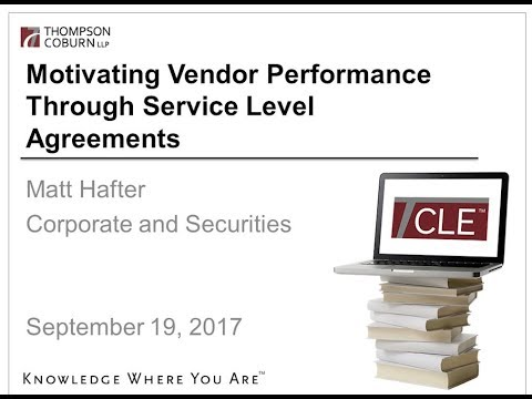 You Don't Know What You're Missing: Motivating Performance Through Service Level Agreements