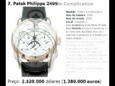 6501468e5a7 Os Relogios Mais Caros do Mundo - YouTube