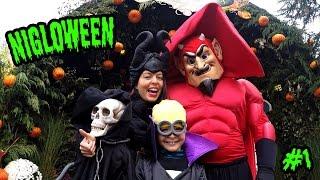 Vlog - Monstres d'Halloween pour Nigloween à NIGLOLAND - Premiers manèges & attractions