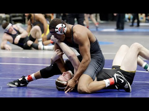Ohio State wrestler Myles Martin
