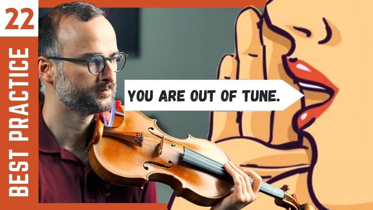 Fix your intonation in a week [Violin Technique]