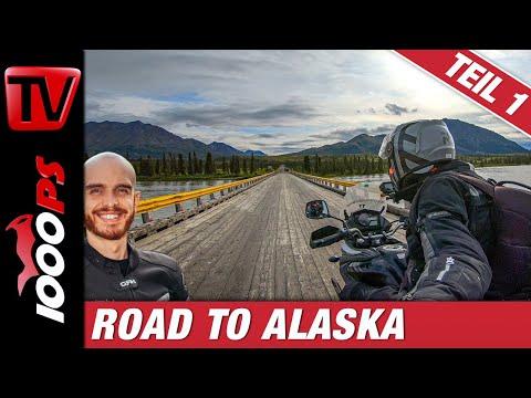 Mit dem Motorrad durch Alaska - die besten Momente - Reisebericht Teil 1