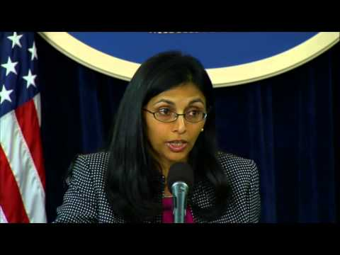 Assistant Secretary Biswal Discusses U.S. Foreign Policy Priorities in South and Central Asia