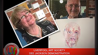 Liverpool Art Society Dee Jackson Demonstration