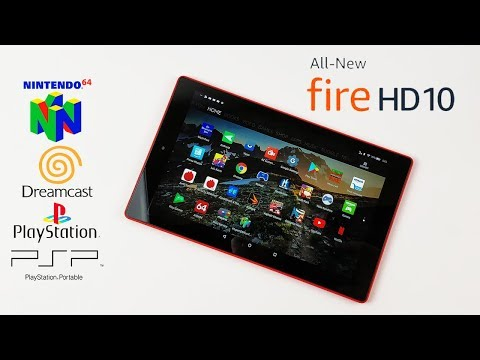 Amazon Fire HD 10 Tablet Emulation Test And Native Android Games
