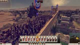 Total War: Rome 2 - The Siege of Alexandria Gameplay [1080p/Commentary]