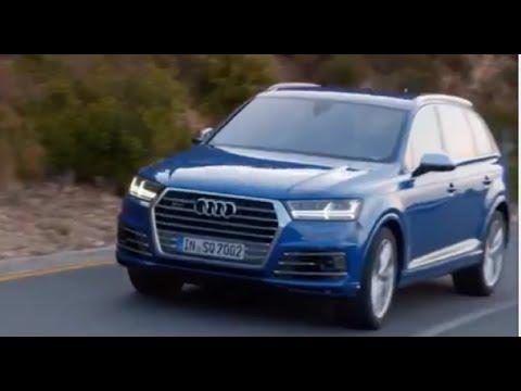 2017 Audi SQ7 TDI - 435HP and 663 lb-ft of torque
