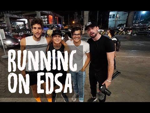 RUSH HOUR EDSA TRAFFIC RUN FT. BRET MAVERICK, NICO BOLZICO AND ARNOLD ANINION