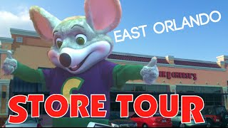Chuck E. Cheese's East Orlando Store Tour