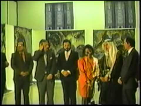 nabil Kanso - Gulf War Exhibit - Kuwait - Caracas - compromiso por la paz