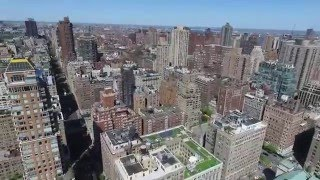 Drone View of New York Central Park
