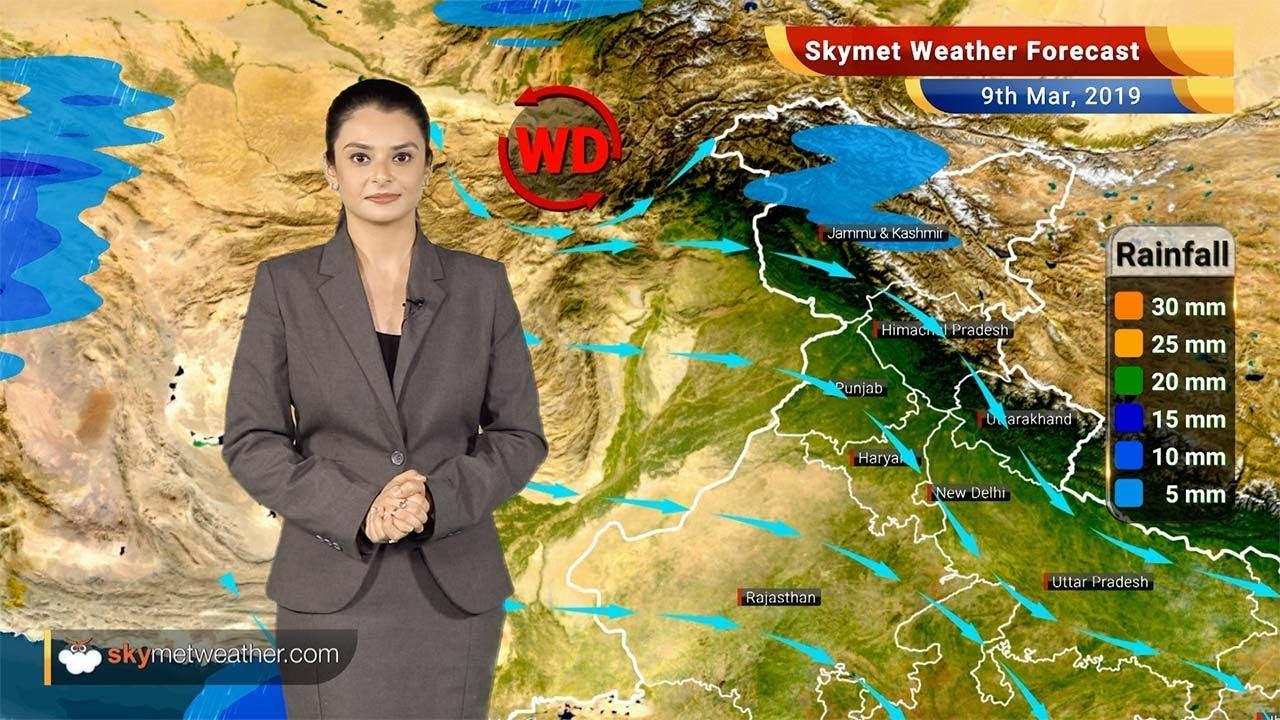 Weather Forecast March 9: Rain in Jammu and Kashmir, Arunachal