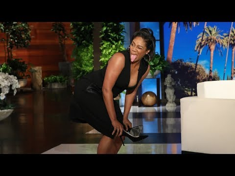 Promise - The Bizness Hourz - Tiffany Haddish shows Ellen what a lazy stripper  looks like