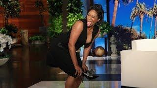 Tiffany Haddish Demonstrates Lazy Stripper Moves